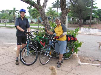 Cycling Cuba Enrique our guide for a day